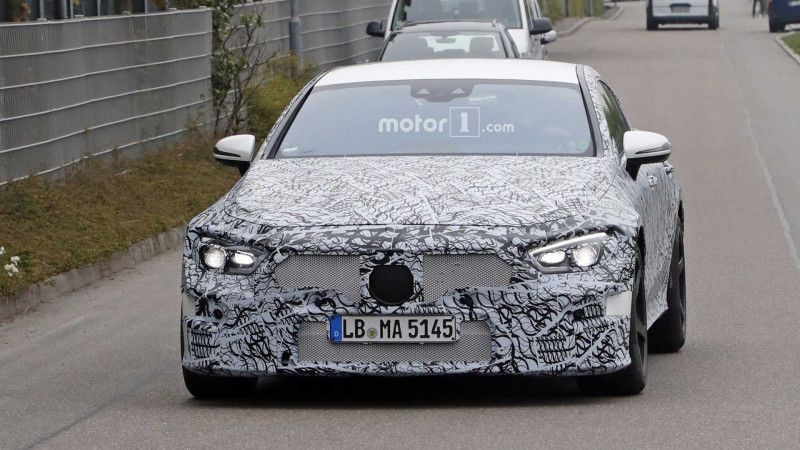 Mercedes-AMG continues to test its four-door GT
