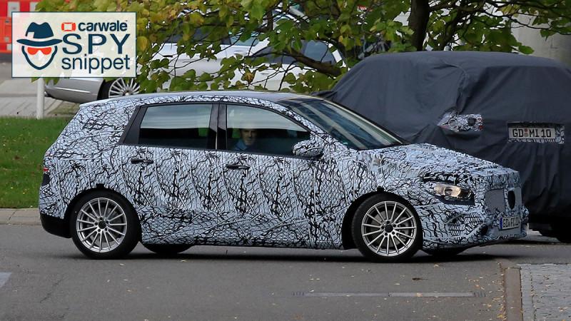 Next Mercedes-Benz B-Class prototype caught testing