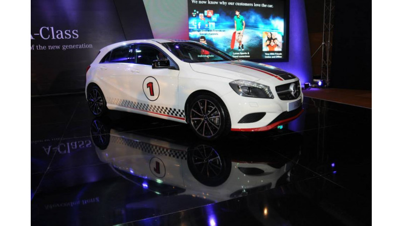 Mercedes-Benz A-Class launched in Mumbai, wows the audience