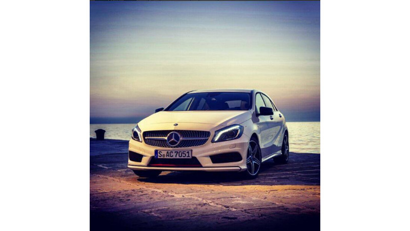 Mercedes-Benz A-Class a success story in the making: 400 bookings in less than 10 days
