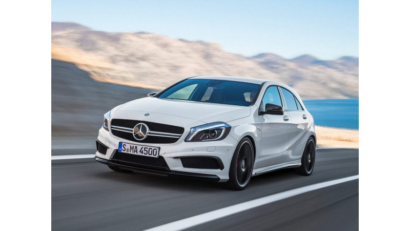 AMG A45 the world's most powerful production hatch ever