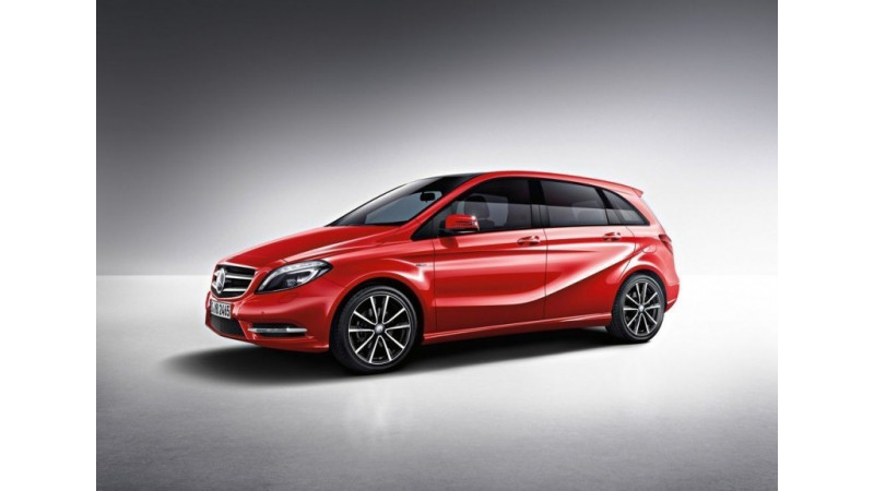 Mercedes-Benz B-Class Diesel Set to Compete with Volvo V 40