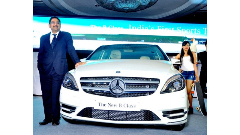 Launch of Mercedes-Benz B-Class Diesel just around the corner