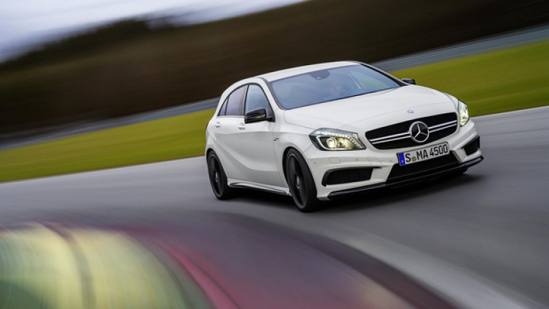 Mercedes-Benz CLA 45 AMG revealed in a new Sony PS4 game called Driveclub