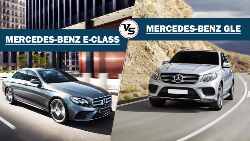 Spec comparison: Mercedes-Benz E220d Vs GLE250d