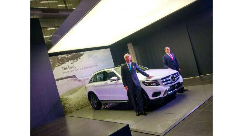 Price cut and features trimmed for India-made Mercedes-Benz GLC