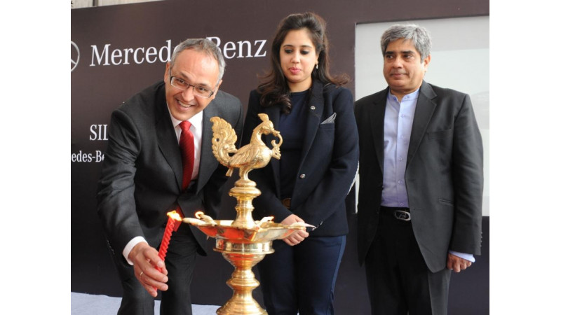 Mercedes-Benz opens the doors of 'Silver Arrows', its first store in Noida