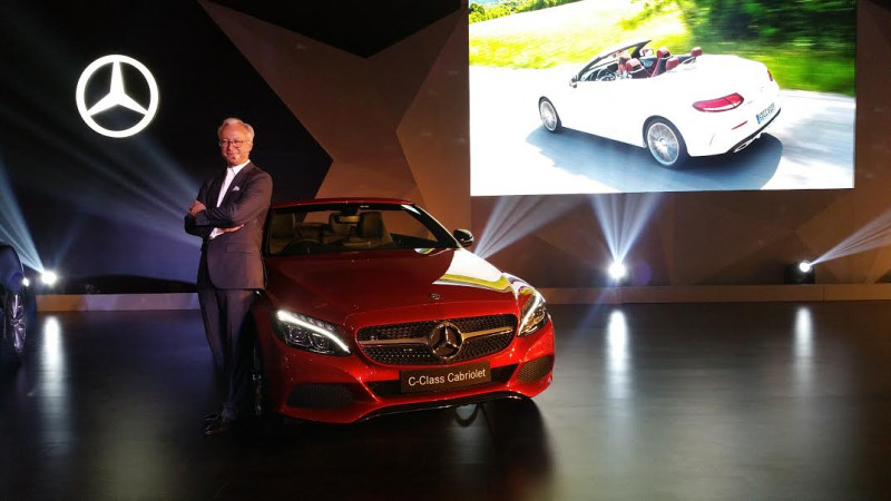 Mercedes-Benz C-Cabriolet and S-Cabriolet launched at Rs 60 lakh and Rs 2.25 crore