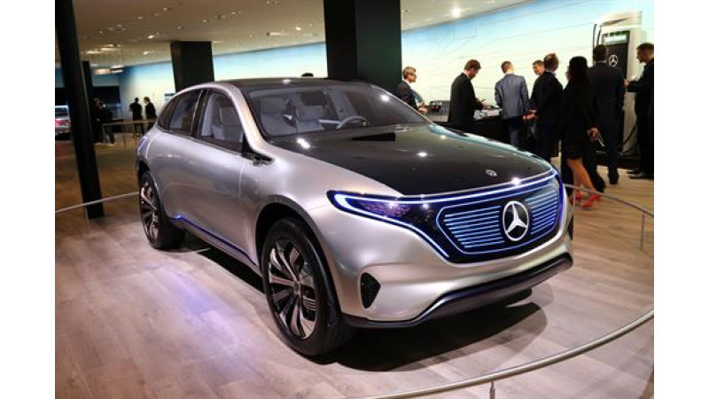 2017 Frankfurt Auto Show: Mercedes-Benz EQA is the first budget EV from EQ sub-brand