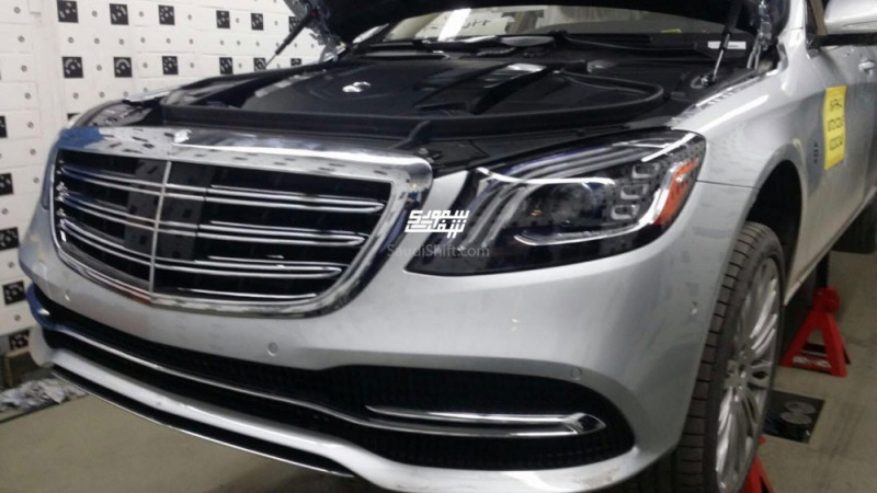 2018 Mercedes-Benz S-Class spotted undisguised