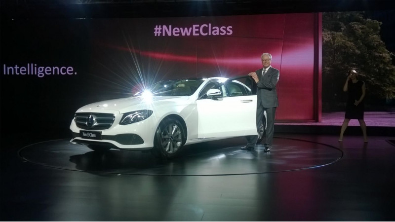 Mercedes-Benz E-Class LWB launched at Rs 56.15 lakh
