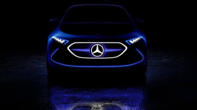 Mercedes teases the EQ A concept
