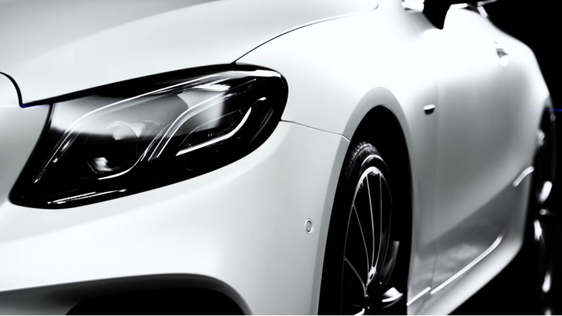 2017 Mercedes-Benz E-Class Coupe teased