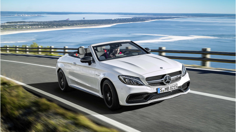 Mercedes unveils C63 AMG Cabriolet at New York