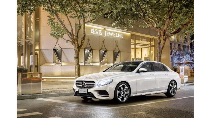 Mercedes E-Class Long Wheelbase premieres at the Beijing Motor Show
