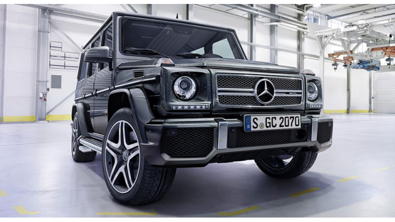 Mercedes-Benz plans to introduce the new G-Class in 2017