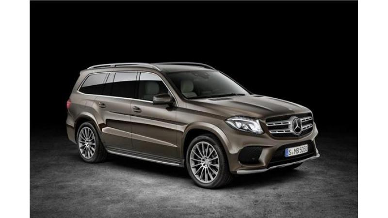 Mercedes-Benz reveals top-of-the-line GLS SUV