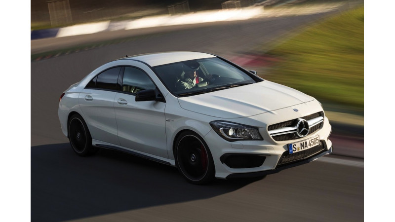 Mercedes Benz CLA 45 AMG Visible On Companyu0027s Official India Website