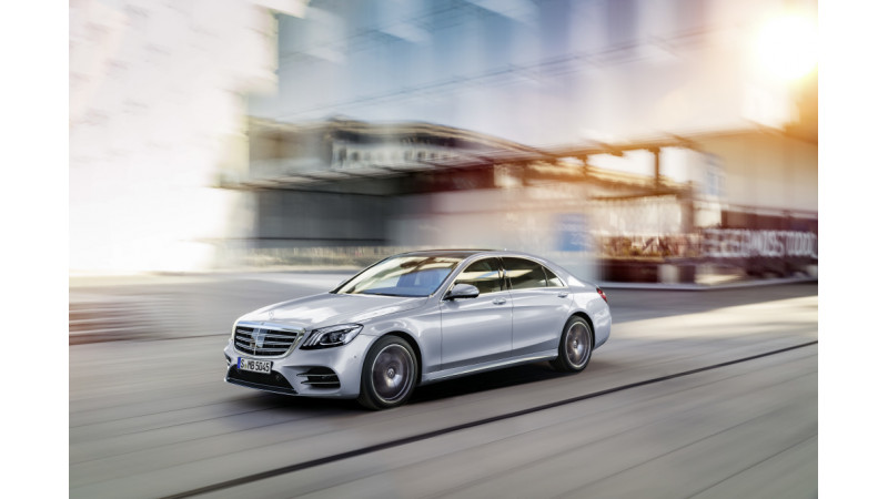Mercedes-Benz S-Class facelift unveiled at Shanghai 2017