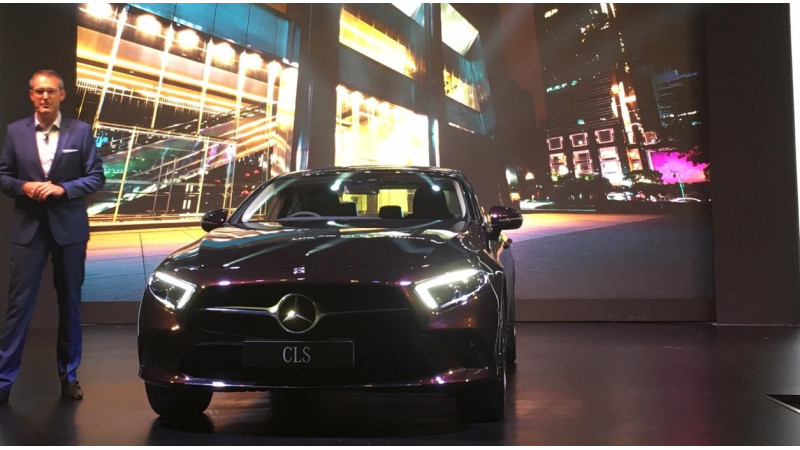 Mercedes Benz launches the third generation CLS in India at Rs 84.70 lakhs
