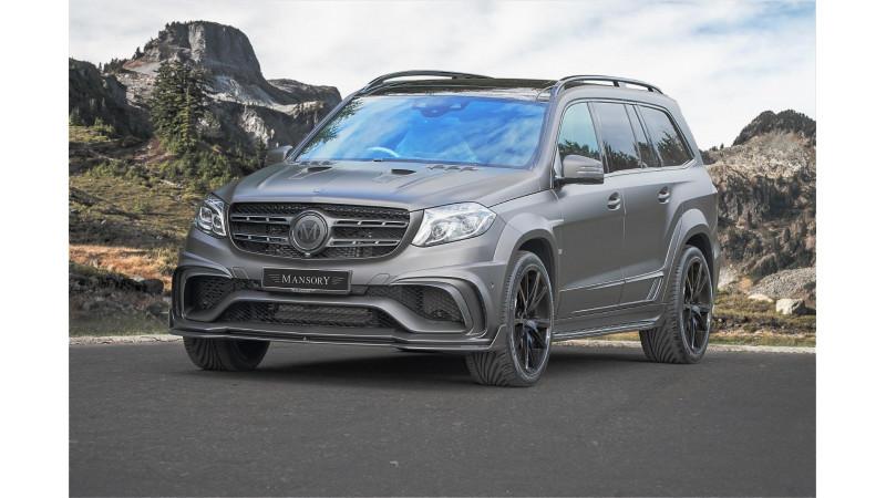 Mansory tuned Mercedes-AMG GLS 63 develops 830bhp