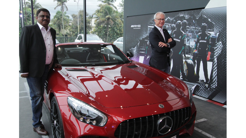 Mercedes-Benz opens AMG performance centres in Kochi and Chennai