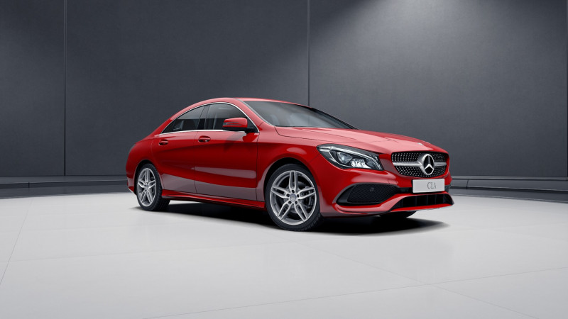 New Mercedes-Benz CLA India launch on November 30