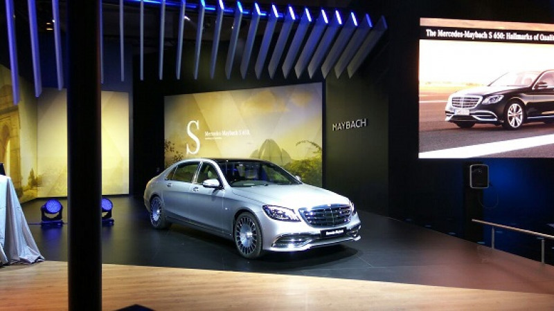 Mercedes-Benz S650 and S500 Maybach all details revealed