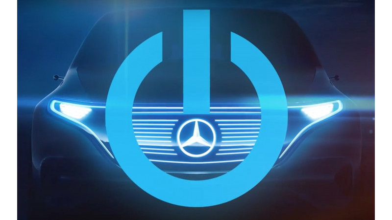 Mercedes teases electric crossover concept