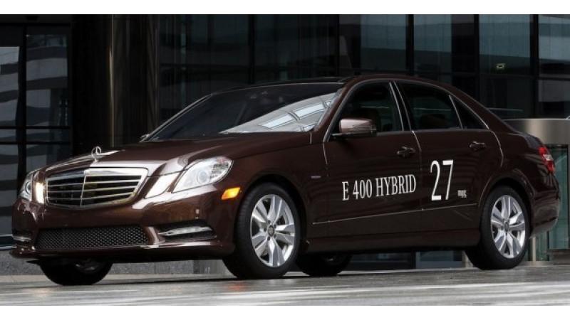 Mercedes Benz To Showcase E400 Hybrid And E300 Bluetec At Detroit Auto Show