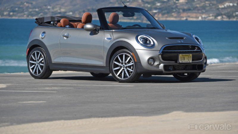 Mini Cooper Convertible launched in India at Rs 34.90 lakh