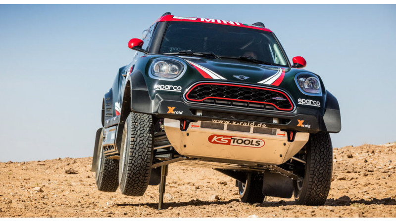 Mini 2017 Dakar contender     John Cooper Works Rally