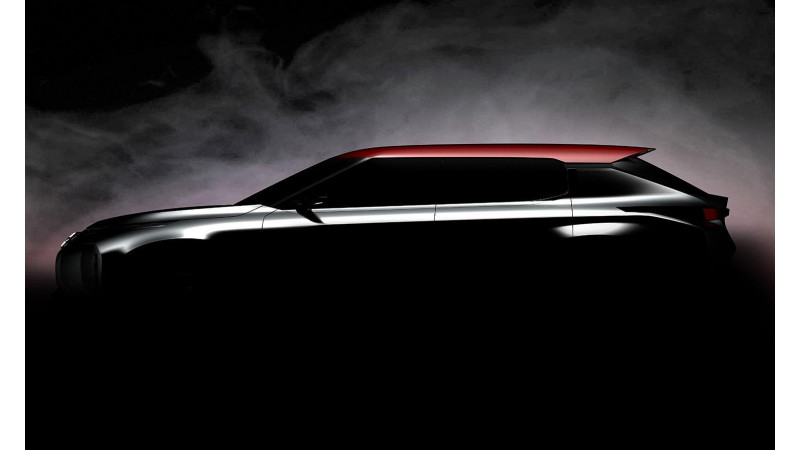 Mitsubishi Ground Tourer concept teaser image released ahead of Paris Motor Show