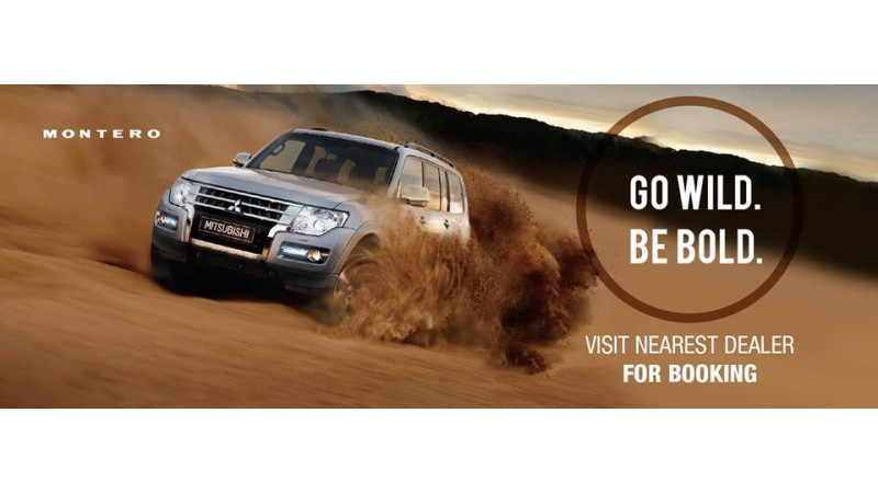Mitsubishi Montero now available for booking; priced at Rs 67.28 lakh