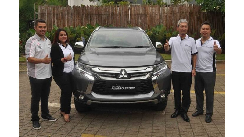 Mitsubishi Pajero Sport launched in Indonesia