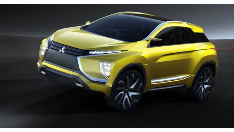 Mitsubishi will reveal eX crossover concept at the 44th Tokyo Motor Show 2015