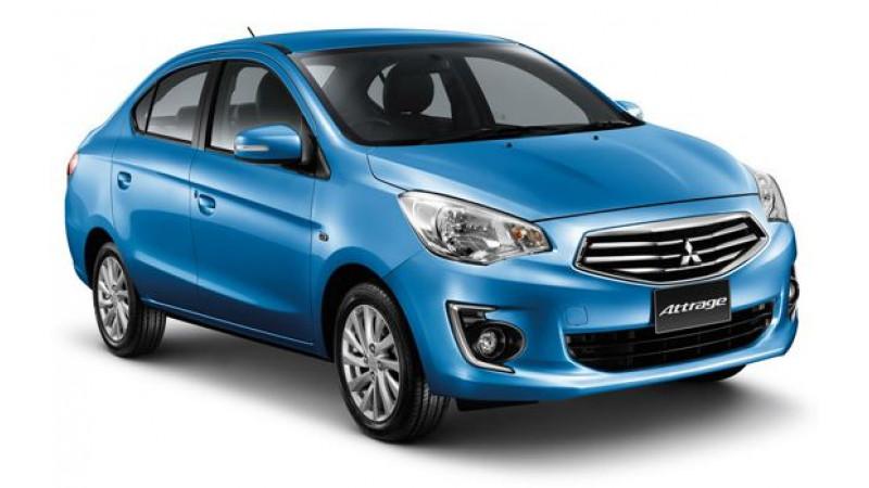 Mitsubishi Attrage can take on Sunny, Scala and Amaze in India