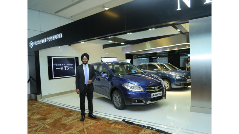 Maruti Suzuki opens MyNEXA Concierge and lounge at IGI Airport