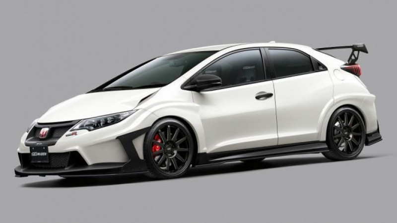 Mugen displays another extreme Honda Civic Type R in Tokyo