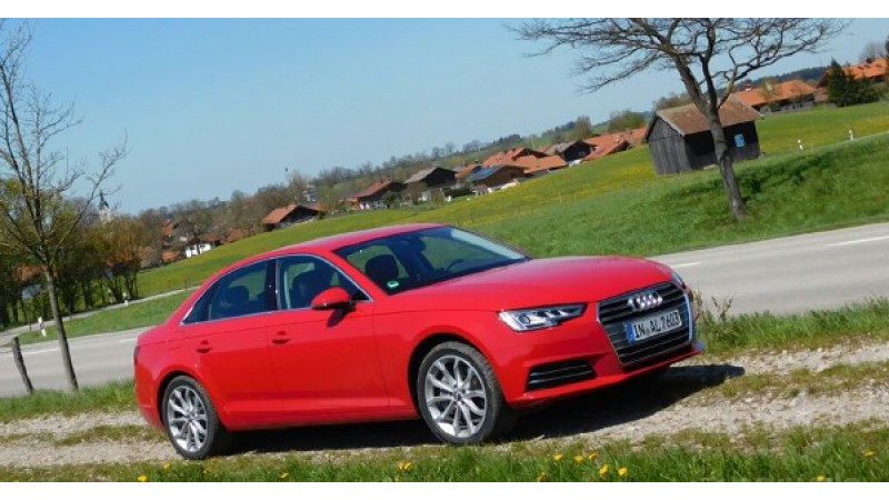 2016 Audi A4 to debut in August