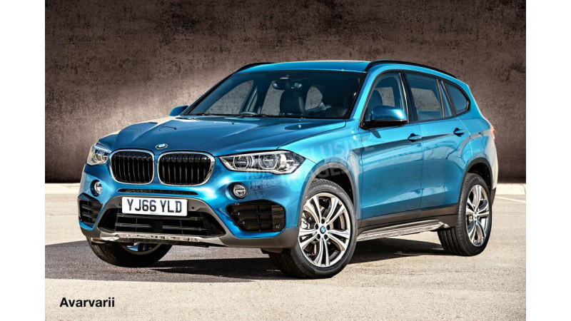 New BMW X3 digitally rendered