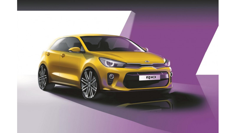 New Kia Rio to arrive at 2016 Paris Motor Show