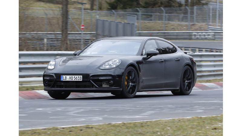 Porsche continues to test next-gen Panamera