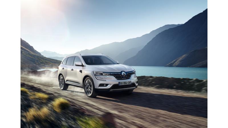 New Renault Koleos shown at the Beijing Motor Show