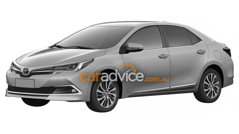 New Toyota Corolla Altis leaked ahead of its official unveiling