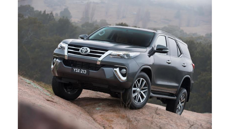 Toyota could get petrol Fortuner and Innova