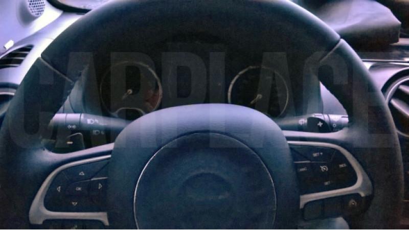 Next-Gen Fiat Punto interior snapped