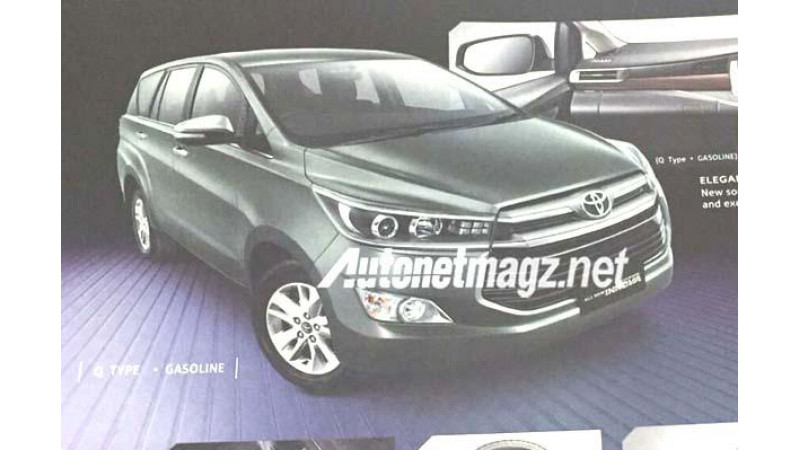 Upcoming new Toyota Innova feature list revealed