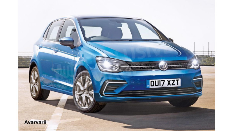 Next-gen Volkswagen Polo rendered