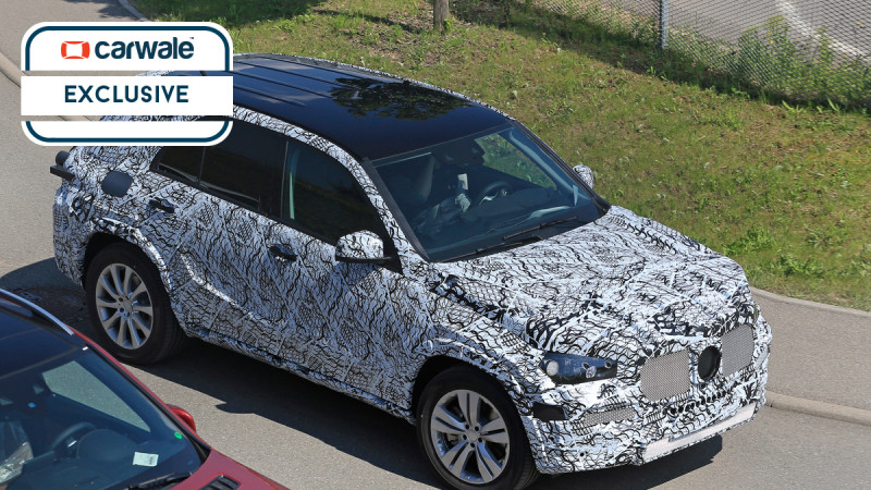 Next generation Mercedes-Benz GLE Class spotted on test